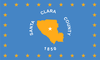 علم Santa Clara County, California