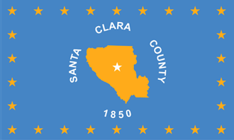 Los Altos Hills, California - Image: Flag of Santa Clara County, California