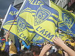Flags of ASM Clermont Auvergne.jpg