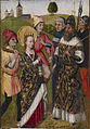 Flemish - Saint Catherine Confronting the Emperor - Walters 372488.jpg