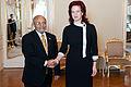 Flickr - Saeima - Saeimas priekšsēdētāja Solvita Āboltiņa tiekas ar Etiopijas vēstnieku (2).jpg
