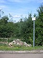 Fly tipping sign at Rothamsted - geograph.org.uk - 42157.jpg