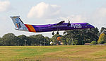 Flybe G-JEDR British European Bombardier DHC-8-402 Q400 (21978355208).jpg