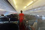 Fog in the cabin of an AirAsia Airbus A320.jpg