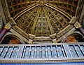 Fontainebleau Château de Fontainebleau Innen Hohe Kapelle Saint-Saturnin Gewölbe 3.jpg