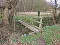Footbridge over the stream - geograph.org.uk - 312508.jpg