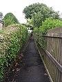 Footpath - Highfield Road - geograph.org.uk - 1898770.jpg