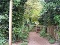 Footpath in Mildenhall - geograph.org.uk - 1295447.jpg