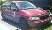 Ford Freestar Canada Coast Guard (Ste. Anne De Bellevue Veteran's Hospital '10)