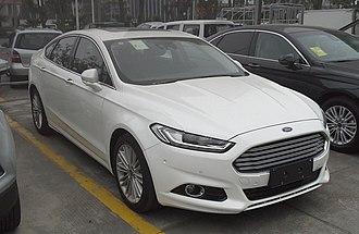 D-segment - Ford Mondeo Mk V (2014-present)