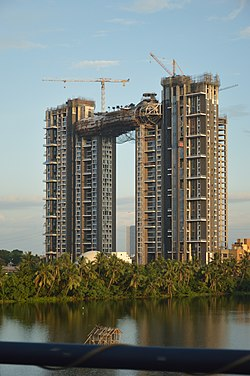 Forum Atmosphere - Residential Complex Under Construction - Kolkata 2017-07-15 1540.JPG
