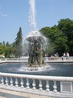 The Horace Rackham Memorial Fountain at the Detroit Zoo