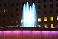 Fountain at Night on Plaça de Catalunya (33319536826).jpg