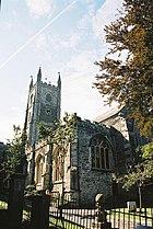 Fowey, parish church of St. Finbarrus - geograph.org.uk - 571426