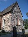 Frötuna kyrka, Norrtälje, gavel mot öster, 2018a.jpg
