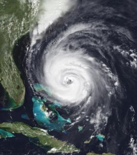 Hurricane Fran Category 3 Atlantic hurricane in 1996