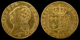 Louis d'or - Louis d'or of Louis XVI (1788)