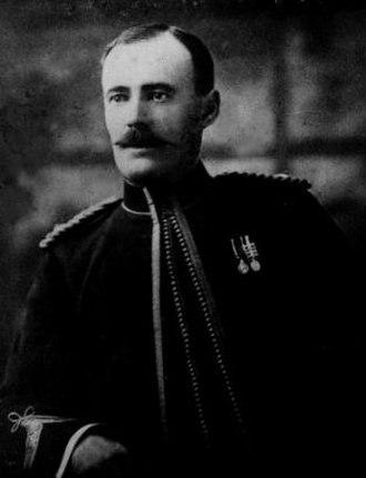 Herschel Island - Francis Joseph Fitzgerald, first RCMP officer assigned to Herschel Island (1903)