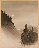 Francis Gardner Curtis - Landscape with Pines and Moon - 41.500 - Museum of Fine Arts.jpg