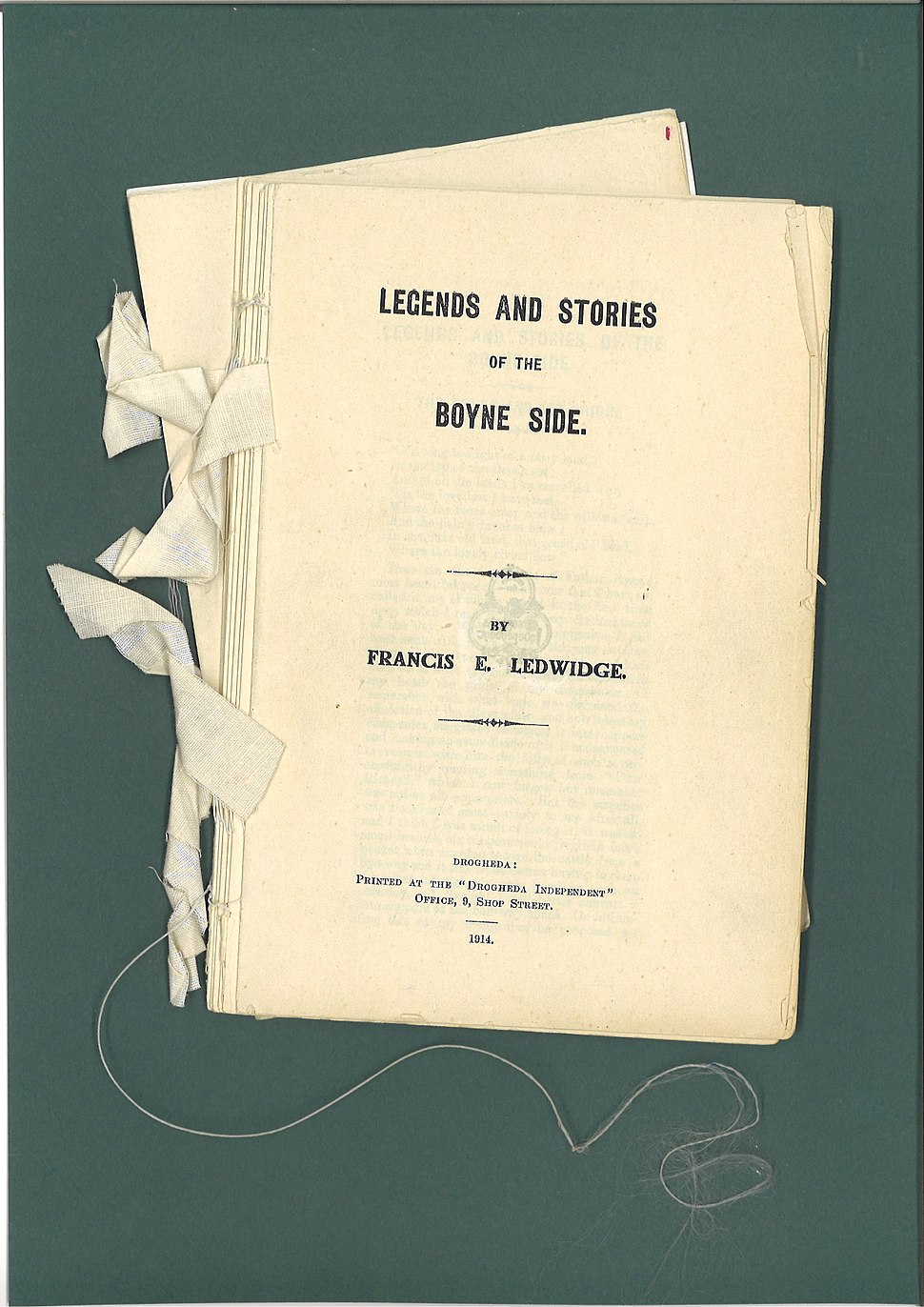 Francis Ledwidge Legends and Stories 3