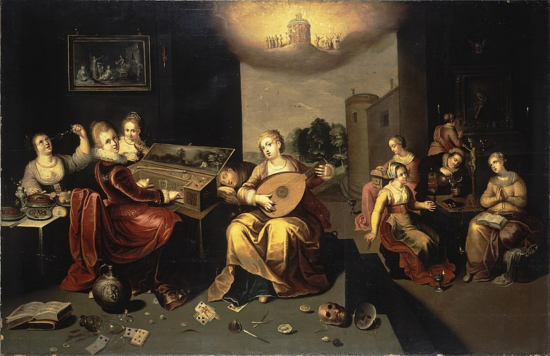 Ficheiro:Francken, Hieronymus the Younger - Parable of the Wise and Foolish Virgins - c. 1616.jpg