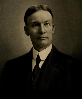 Frank W. Blackmar - Portrait of F.W. Blackmar