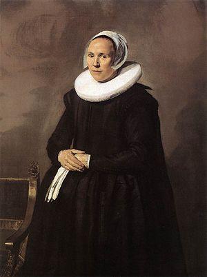 Lucas de Clercq - Portrait of Ferijntje Steenkiste (1604-1640)
