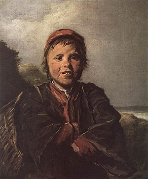 Laughing Fisherboy - Image: Frans Hals 092 WGA version