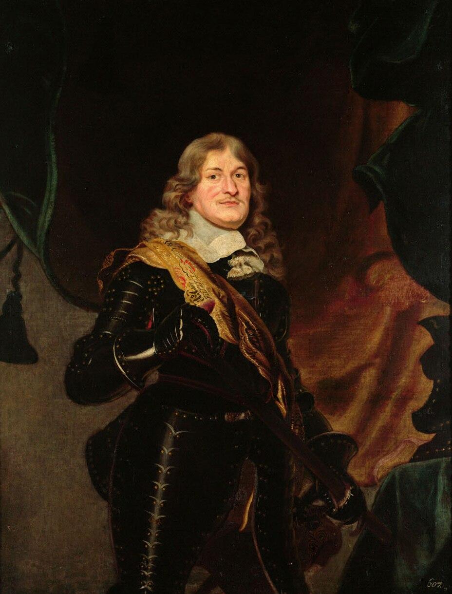 Frans Luycx - Frederick William, Elector of Brandenburg, at three-quarter-length