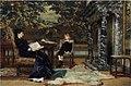 Frans Verhas - Reading in the living room.JPG