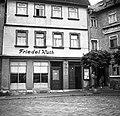 Frauentorstrasse 21. a Frauenplan felől nézve. Ebben a házban élt Schiller 1787-től 1789-ig. Fortepan 74999.jpg