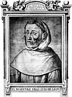 Fray Luis de León, depicted in a biography by James Fitzmaurice-Kelly