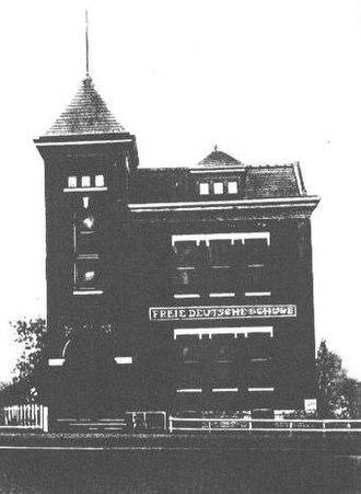 West Third Street Historic District (Davenport, Iowa) - Freie Deutsche Schule