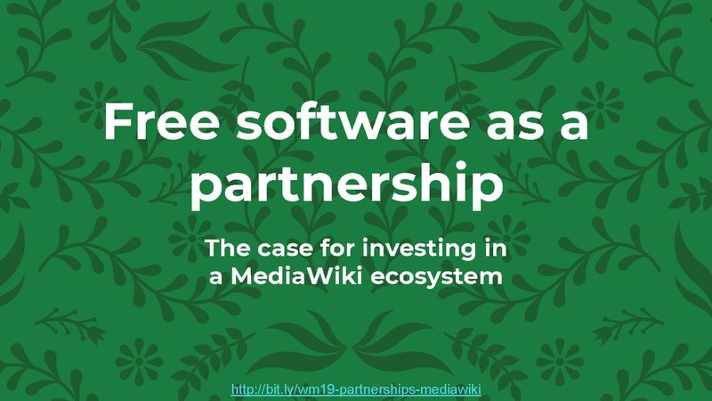 File:Free software as a partnership (Wikimania 2019).pdf