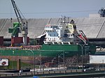 Freighter Whistler moored at the Redpath Sugar Refinery, 2013 05 02 -d.JPG
