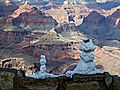 Friendly Snowmen at Grand Canyon.JPG