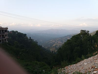 skyline of Dhulikhel