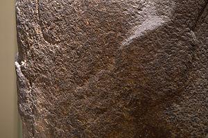 Hoa Hakananai'a - Image: Front hand damage
