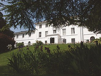 Sidcot School - Image: Front of Senior School