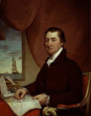 Elias Hasket Derby - c. 1800–25 portrait by James Frothingham