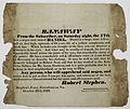 Fugitive Slave Broadside, Greenbrier County, 1829 crop.jpg