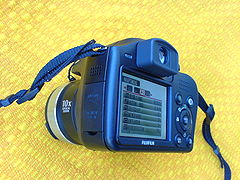Fujifilm FinePix S5700 Digital camera black - display.JPG