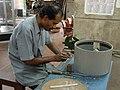 Fun Science Exhibits Fabrication - CRTL Workshop - NCSM - Kolkata 2003-09-06 00146.JPG