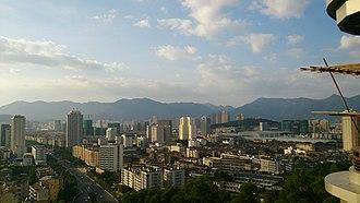 Jin'an District, Fuzhou - Image: Fuzhou Railway Station Shangquan, Jin'an, Fuzhou, Fujian, China panoramio (2)