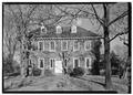 GENERAL VIEW, SOUTHWEST ELEVATION - Stenton, Courtland and Eighteenth Streets, Philadelphia, Philadelphia County, PA HABS PA,51-PHILA,8-1.tif