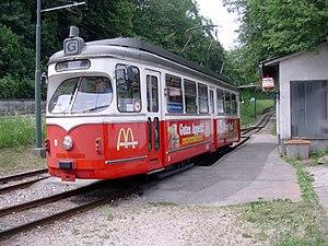 Gmunden Tramway - Image: GM8