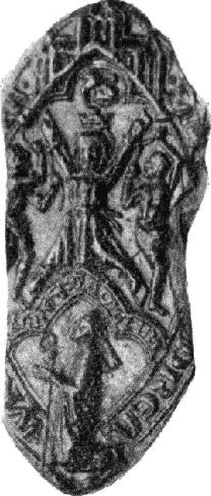 Gamelin (bishop) - Seal of bishop Gamelin.
