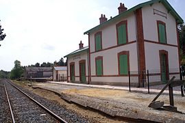 The Lambel - Camors railway station