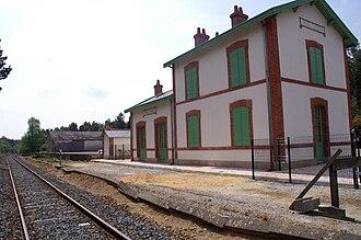 Camors - The Lambel - Camors railway station