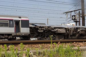 Brétigny-sur-Orge train crash - Image: Gare de Brétigny sur Orge 2013 07 13 A IMG 9834